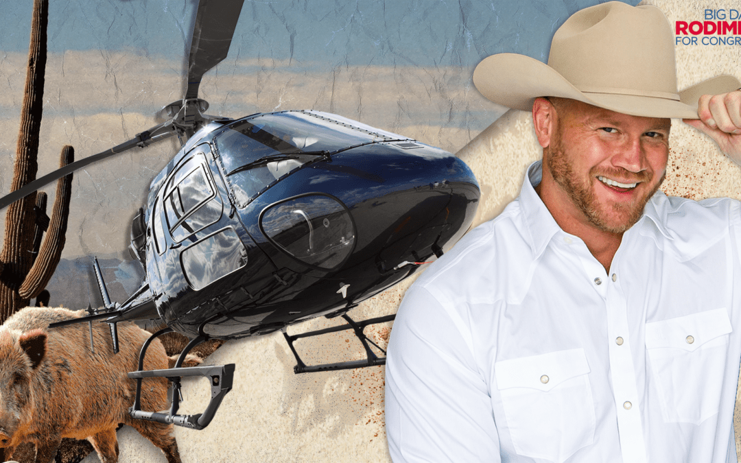 Dan Rodimer Releases Campaign Ad Featuring Helicopter Hog Sniping, Promises To Cut The Pork In Washington If He Wins TX-06