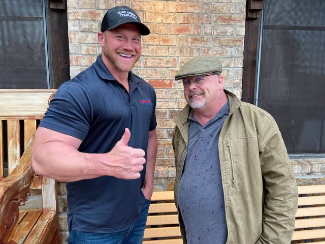 Dan Rodimer Stomps With Rick Harrison From Pawn Stars In Final Stretch Of TX-06 Election